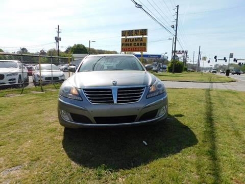 2013 Hyundai Equus for sale at Atlanta Fine Cars in Jonesboro GA