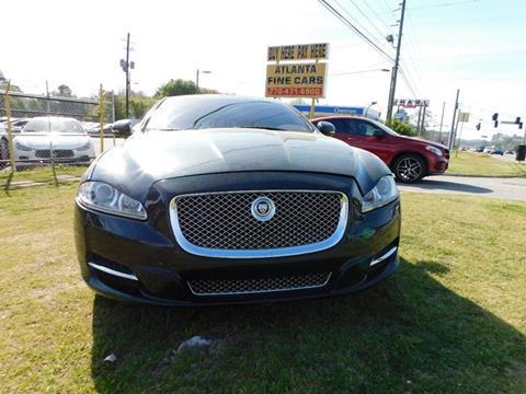 2011 Jaguar XJ for sale at Atlanta Fine Cars in Jonesboro GA
