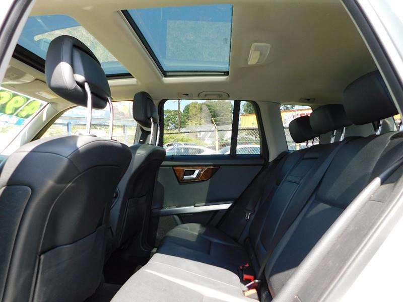 2012 Mercedes-Benz GLK AWD GLK 350 4MATIC 4dr SUV - Jonesboro GA