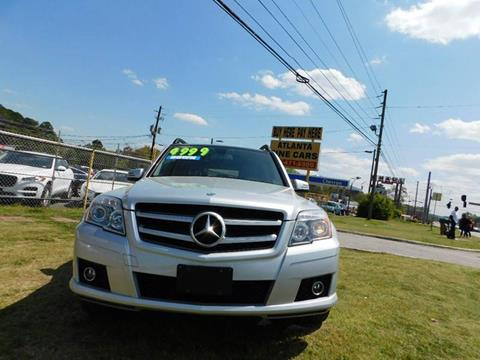 2012 Mercedes-Benz GLK for sale at Atlanta Fine Cars in Jonesboro GA