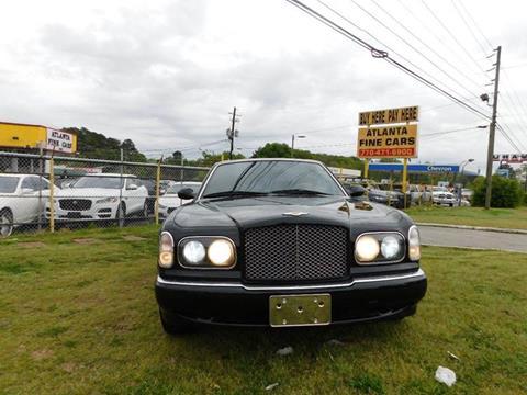 1999 Bentley Arnage for sale at Atlanta Fine Cars in Jonesboro GA