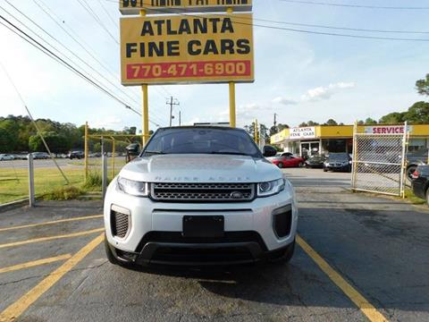 Range Rover Naples >> Used Land Rover Range Rover Evoque Convertible For Sale In