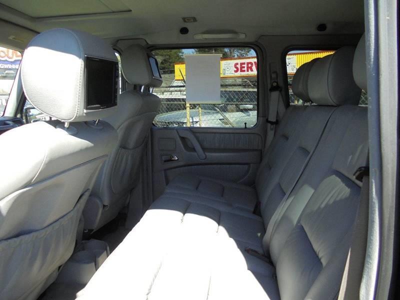 2004 Mercedes-Benz G-Class AWD G 500 4MATIC 4dr SUV - Jonesboro GA