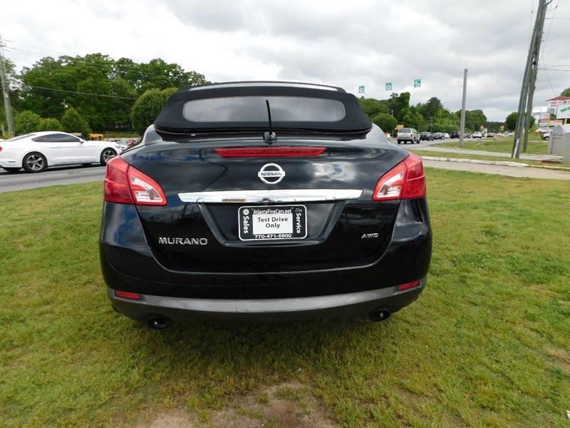 2011 Nissan Murano CrossCabriolet AWD 2dr SUV Convertible - Jonesboro GA