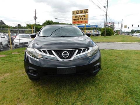 2011 Nissan Murano CrossCabriolet for sale at Atlanta Fine Cars in Jonesboro GA
