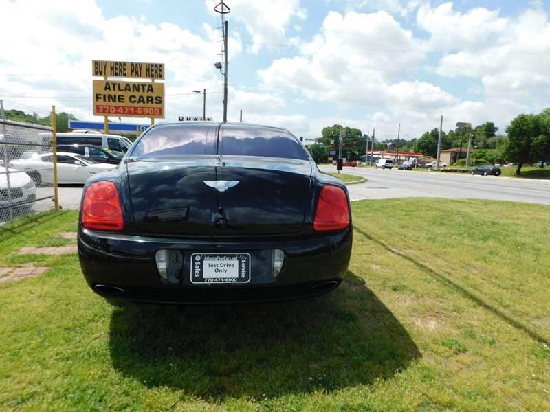 2008 Bentley Continental AWD Flying Spur 4dr Sedan - Jonesboro GA