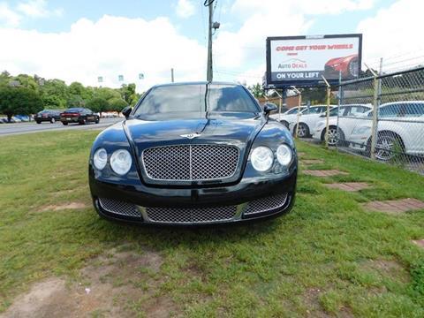2008 Bentley Continental for sale at Atlanta Fine Cars in Jonesboro GA