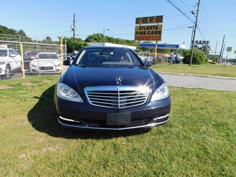 2011 Mercedes-Benz S-Class for sale at Atlanta Fine Cars in Jonesboro GA