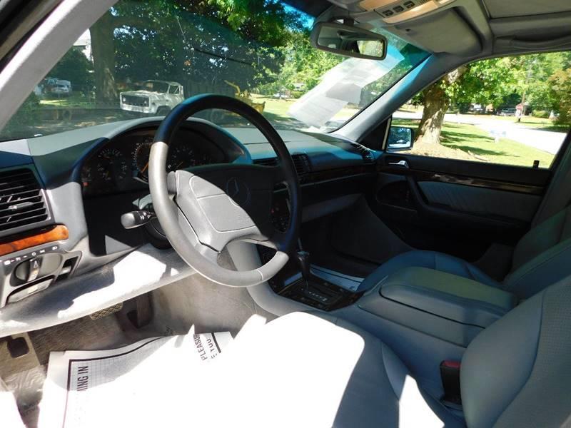1995 Mercedes-Benz S-Class S 500 4dr Sedan - Jonesboro GA