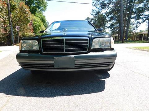 1995 Mercedes-Benz S-Class for sale at Atlanta Fine Cars in Jonesboro GA