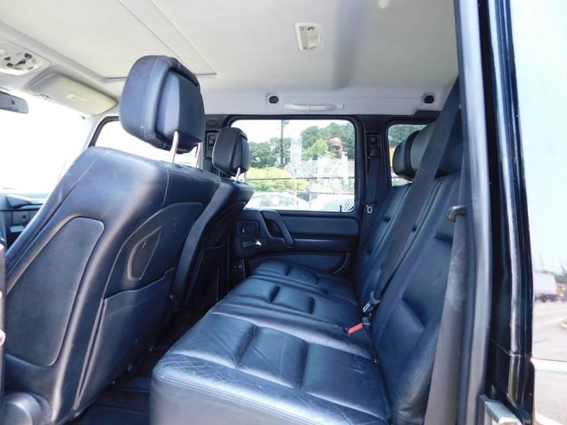 2011 Mercedes-Benz G-Class AWD G 550 4MATIC 4dr SUV - Jonesboro GA
