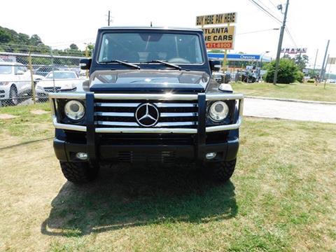 2011 Mercedes-Benz G-Class for sale at Atlanta Fine Cars in Jonesboro GA