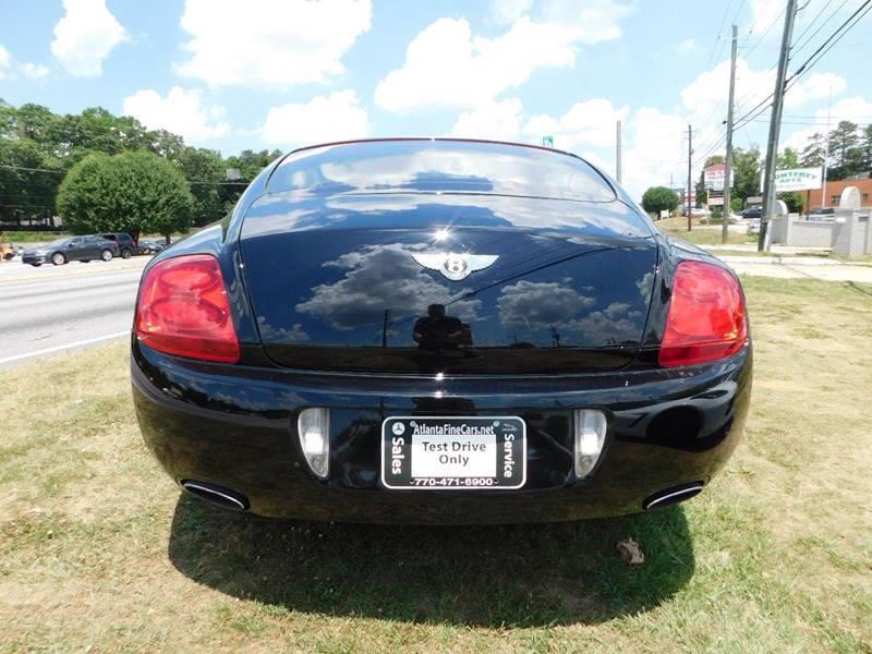 2005 Bentley Continental AWD GT Turbo 2dr Coupe - Jonesboro GA