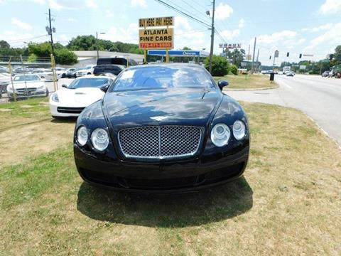2005 Bentley Continental for sale at Atlanta Fine Cars in Jonesboro GA