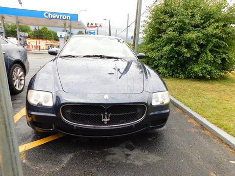 2006 Maserati Quattroporte for sale at Atlanta Fine Cars in Jonesboro GA