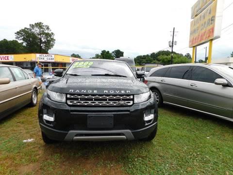 2013 Land Rover Range Rover Evoque Coupe for sale in Jonesboro, GA