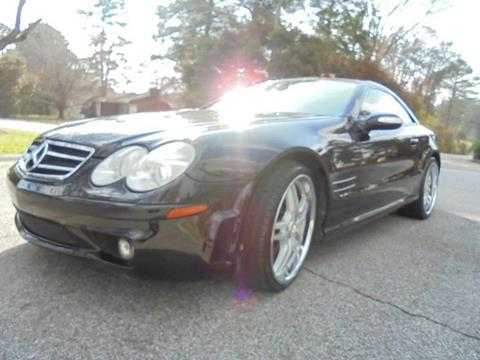 2005 Mercedes-Benz SL-Class for sale at Atlanta Fine Cars in Jonesboro GA