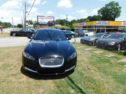 2013 Jaguar XF for sale at Atlanta Fine Cars in Jonesboro GA
