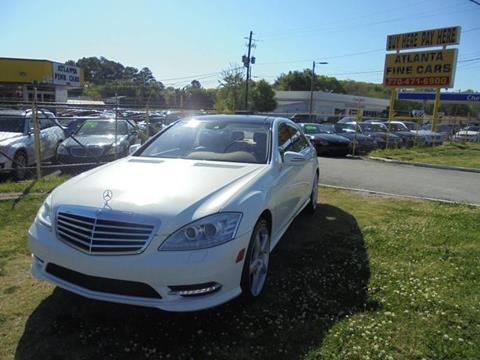 2013 Mercedes-Benz S-Class for sale at Atlanta Fine Cars in Jonesboro GA