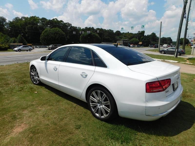 2012 Audi A8 L AWD quattro 4dr Sedan - Jonesboro GA