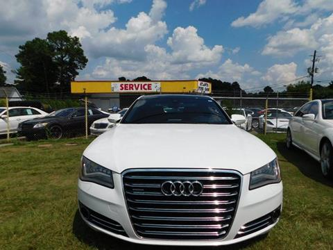 2012 Audi A8 L for sale at Atlanta Fine Cars in Jonesboro GA