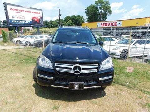 2012 Mercedes-Benz GL-Class for sale at Atlanta Fine Cars in Jonesboro GA
