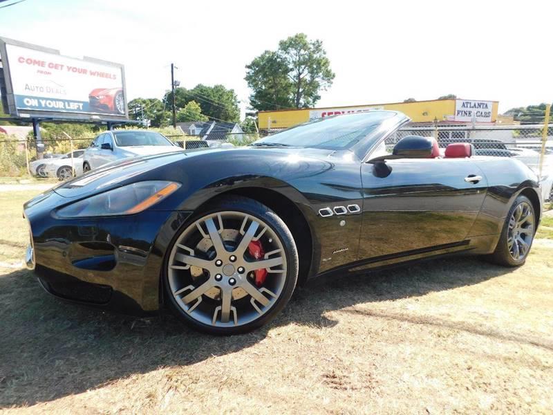2011 Maserati GranTurismo 2dr Convertible - Jonesboro GA