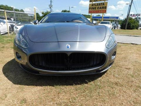 2008 Maserati GranTurismo for sale at Atlanta Fine Cars in Jonesboro GA