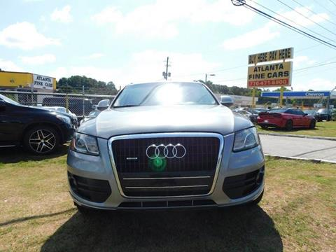 2010 Audi Q5 for sale at Atlanta Fine Cars in Jonesboro GA