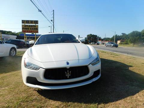 2016 Maserati Ghibli for sale in Jonesboro, GA