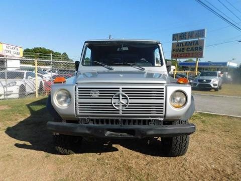 1981 Mercedes-Benz 240-Class for sale at Atlanta Fine Cars in Jonesboro GA