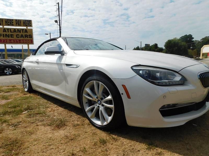 2015 BMW 6 Series 640i 2dr Convertible - Jonesboro GA
