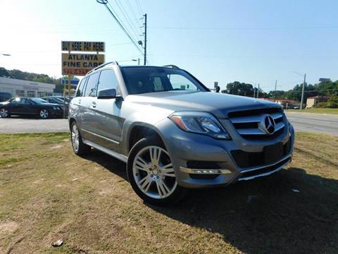 2014 Mercedes-Benz GLK for sale at Atlanta Fine Cars in Jonesboro GA