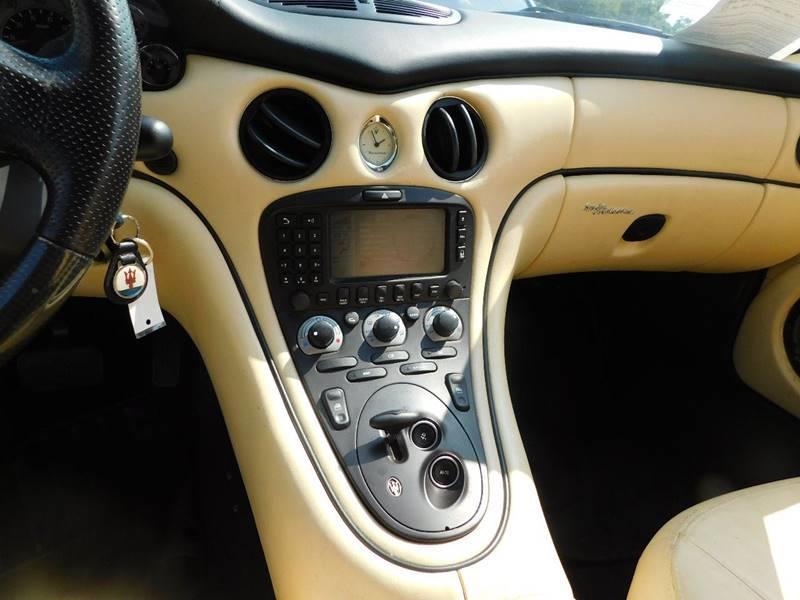 2003 Maserati Spyder Cambiocorsa 2dr Convertible - Jonesboro GA