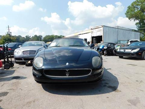 2003 Maserati Spyder for sale at Atlanta Fine Cars in Jonesboro GA
