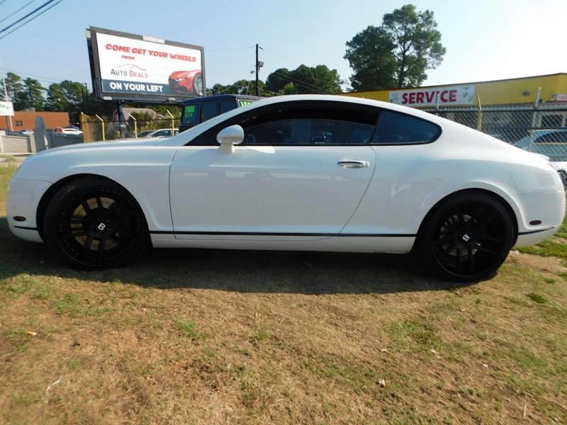 2007 Bentley Continental AWD GT 2dr Coupe - Jonesboro GA