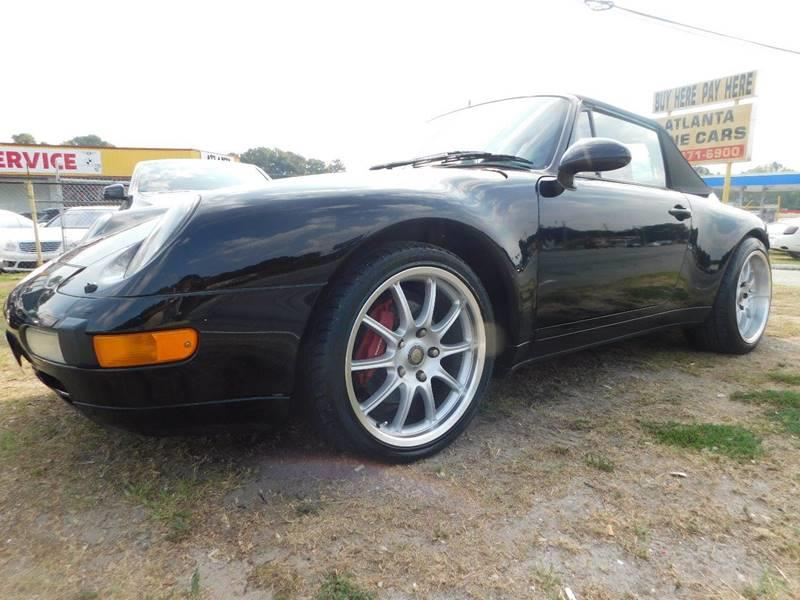 1995 Porsche 911 AWD Carrera 4 2dr Convertible - Jonesboro GA
