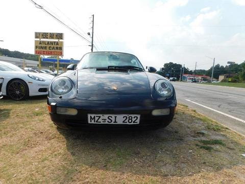 1995 Porsche 911 for sale at Atlanta Fine Cars in Jonesboro GA