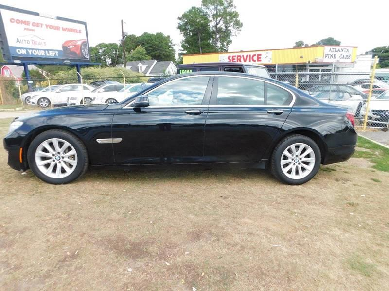 2013 BMW 7 Series 740i 4dr Sedan - Jonesboro GA
