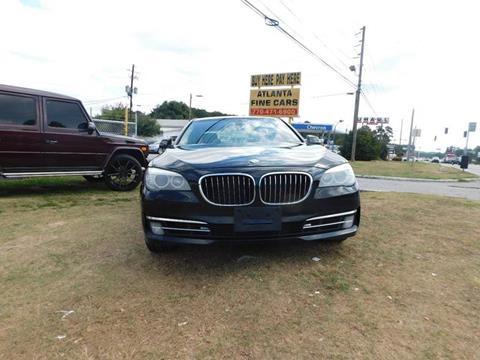2013 BMW 7 Series for sale at Atlanta Fine Cars in Jonesboro GA