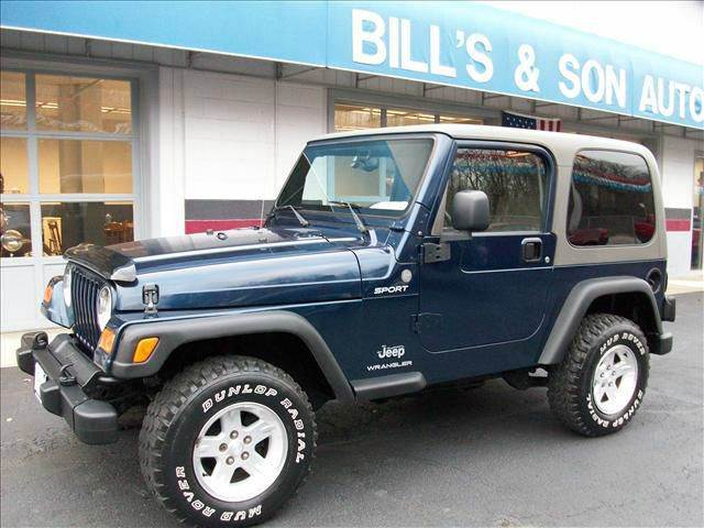2004 Jeep Wrangler Sport For Sale At Billu0027s U0026 Son Auto Truck Inc In Ravenna  OH