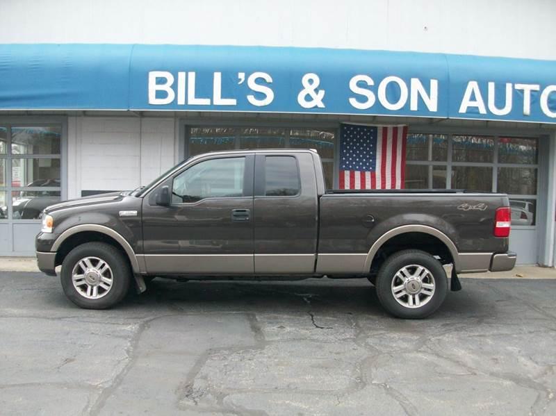Ford F Lariat In Ravenna OH Bills Son Auto Truck Inc - 2005 f150