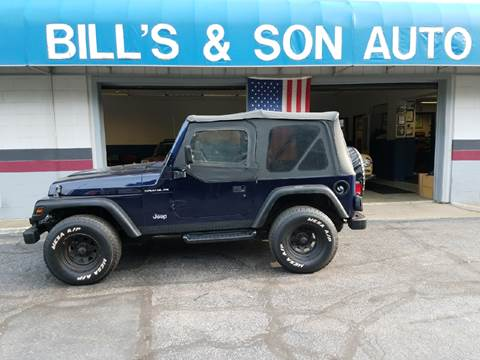 1997 Jeep Wrangler for sale at Bill's & Son Auto Truck Inc in Ravenna OH