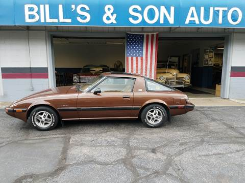 1983 Mazda RX-7 for sale at Bill's & Son Auto Truck Inc in Ravenna OH