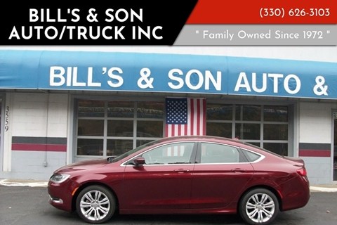 2015 Chrysler 200 for sale at Bill's & Son Auto/Truck Inc in Ravenna OH