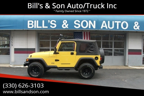 2000 Jeep Wrangler for sale at Bill's & Son Auto/Truck Inc in Ravenna OH