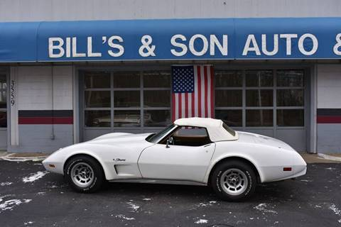1975 Chevrolet Corvette for sale at Bill's & Son Auto/Truck Inc in Ravenna OH