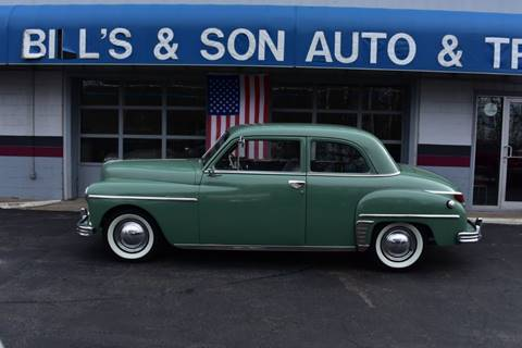 1949 Plymouth Deluxe for sale at Bill's & Son Auto/Truck Inc in Ravenna OH