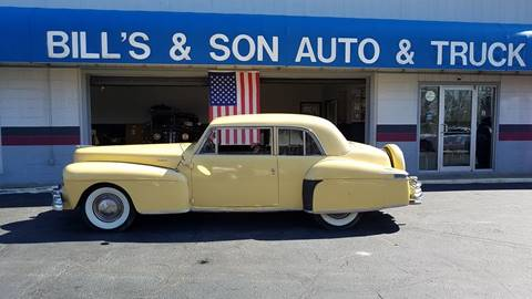 1948 Lincoln Continental for sale at Bill's & Son Auto/Truck Inc in Ravenna OH