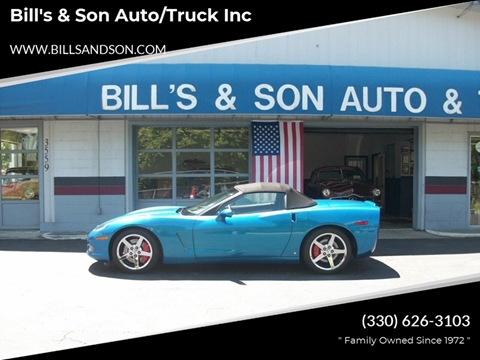 2008 Chevrolet Corvette for sale at Bill's & Son Auto/Truck Inc in Ravenna OH